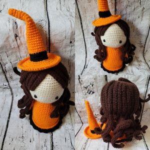 Crochet Witch doll/Amigurumi